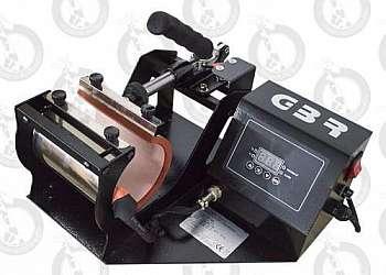 Maquina de estampar fotos em canecas